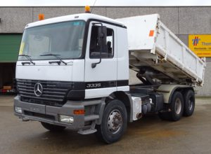Mercedes 3335 tipper