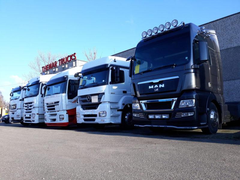 2dehands vrachtwagens te koop