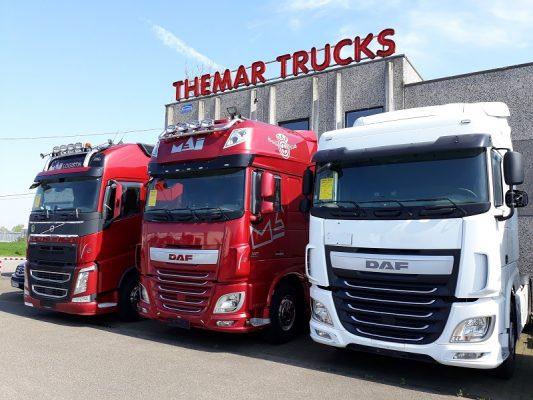 Tweedehands vrachtwagens bij Themar Trucks nv